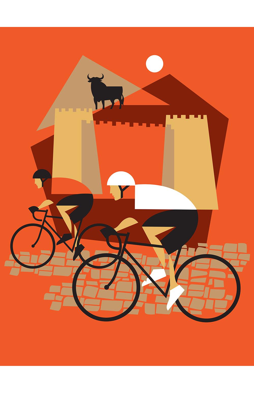 Vuelta Bicycling Jersey - Aprés Vélo