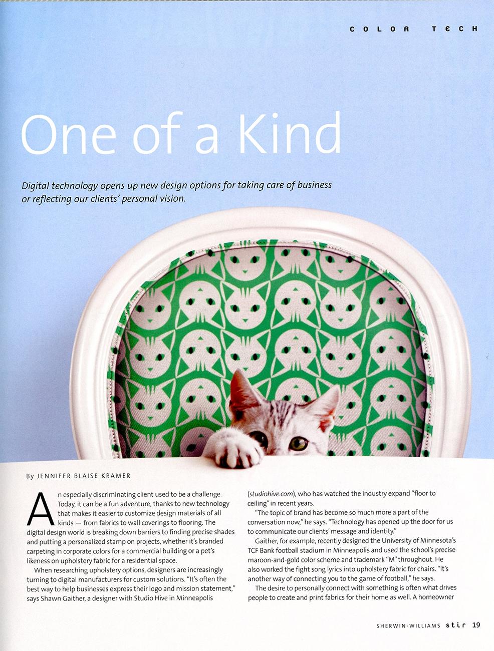 Fabrics Based on Your Pet - Stir Magazine