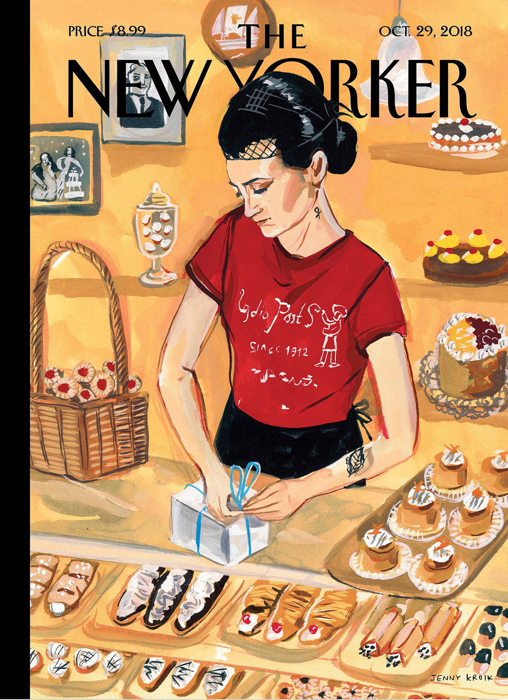 "Cover Illustration ""Arthur Avenue"" - The New Yorker"