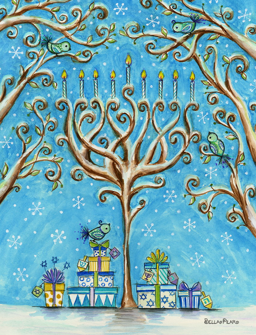Papyrus - Chanukah Winter - Bella Pilar