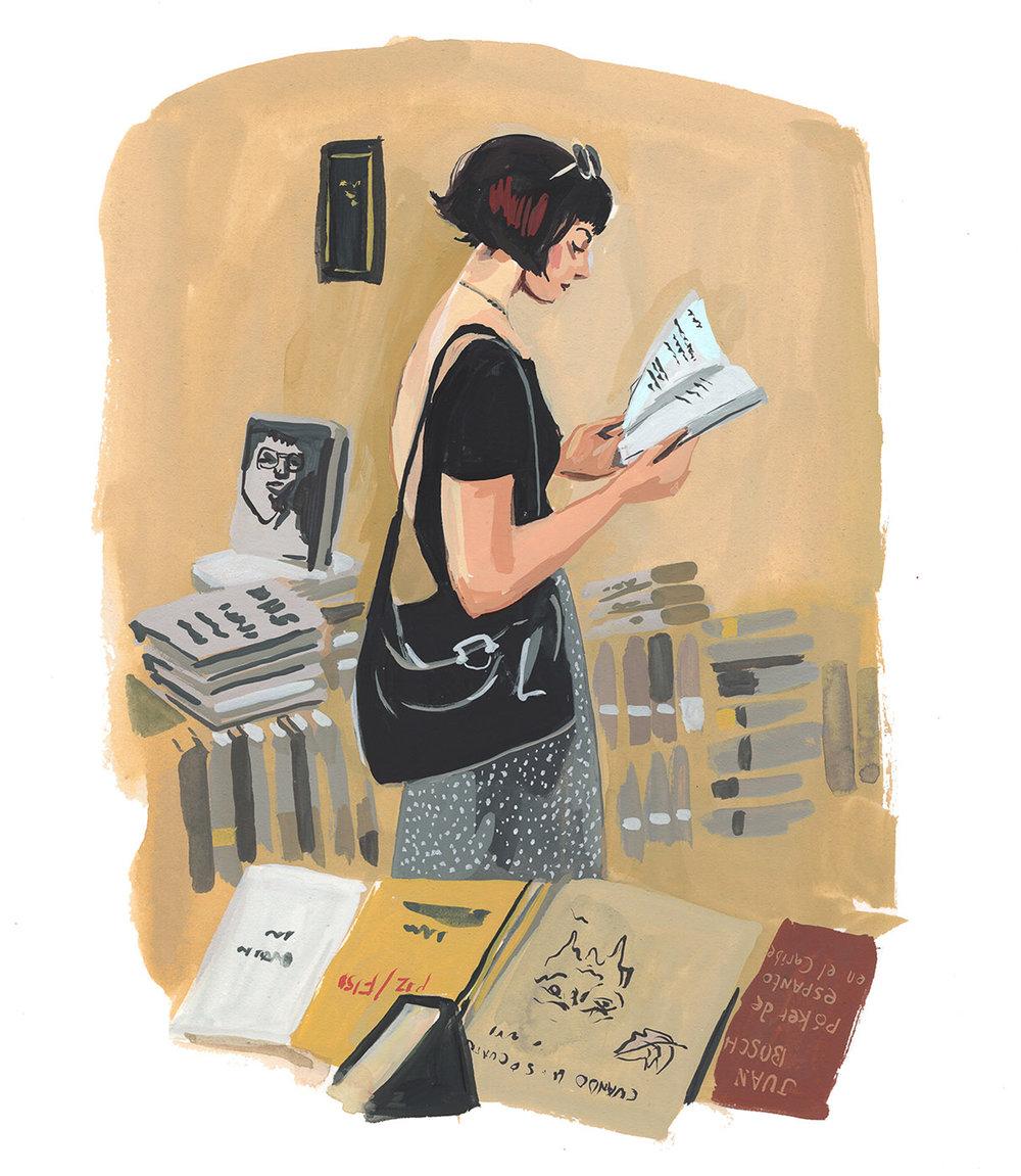 SOI 61 2018 - ARTIST: Jenny KroikTITLE: Word Up Books [7 of 7]