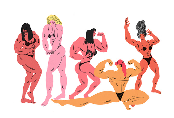 AI 36 2017 - ARTIST: Hye Jin ChungTITLE: Female Bodybuilder