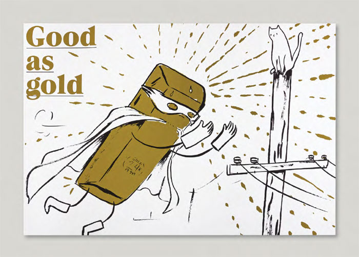 GDUA 2018 SILVER - ARTIST: Graham RoumieuTITLE: A Fat Lot of Good [Series, 1 of 3]CLIENT: Goodall Integrated Design