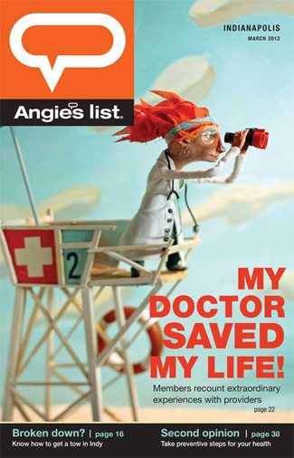 GDUA 2013 - ARTIST: Red Nose StudioTITLE: My Doctor Saved My Life!CLIENT: Angie's List