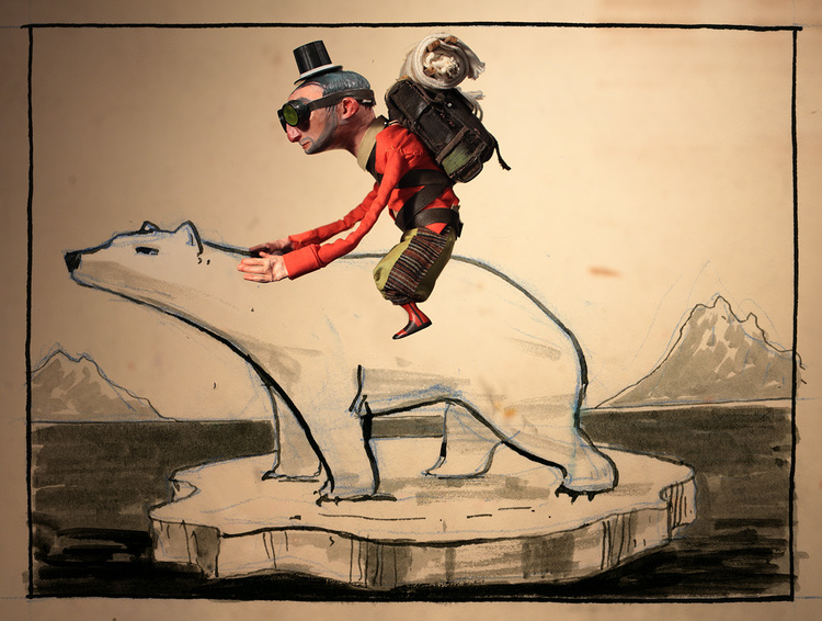 AI 32 2013 - ARTIST: Red Nose StudioTITLE: Explore [4 of 4]CLIENT: The New Yorker