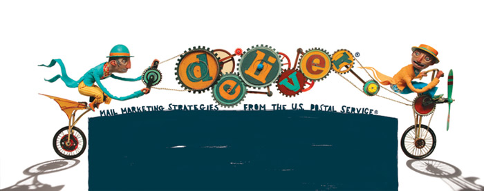 HOW 2012, SOI 55 2012 - ARTIST: Red Nose StudioTITLE: Bicycle [4 of 4]CLIENT: Deliver Magazine/USPS