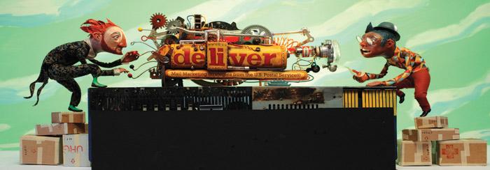 HOW 2012, SOI 55 2012 - ARTIST: Red Nose StudioTITLE: Machine [2 of 4]CLIENT: Deliver Magazine/USPS