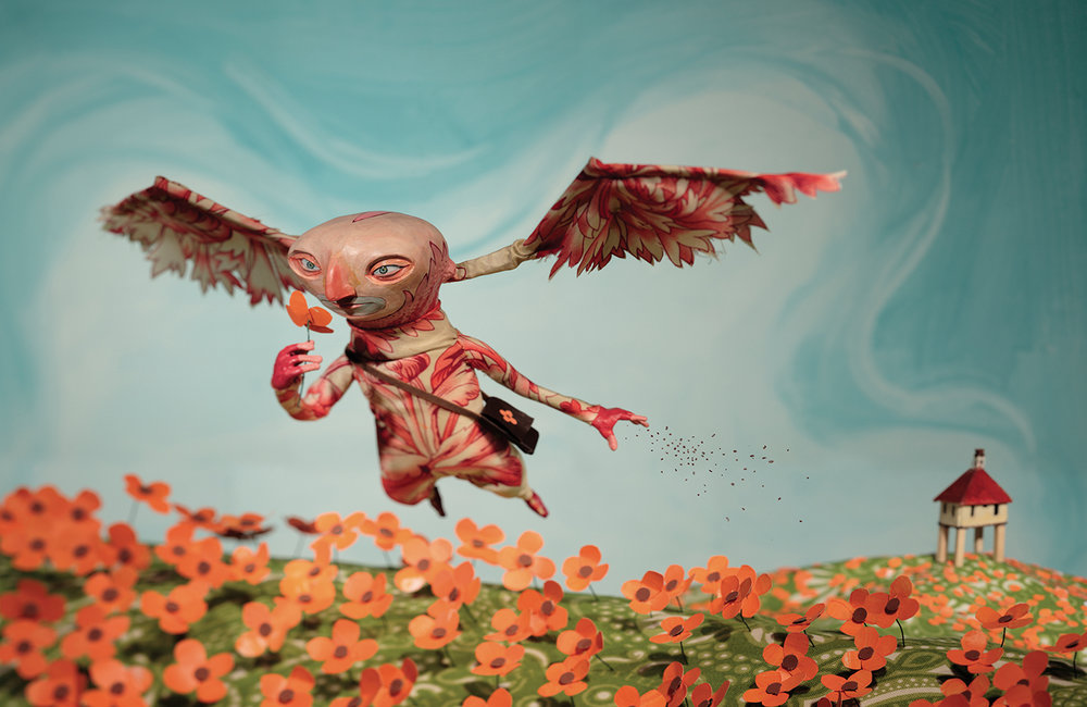 SOIW 48 2010 - ARTIST: Red Nose StudioTITLE: Poppies