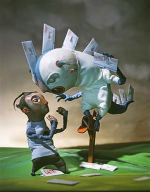 CA 48 2007 - ARTIST: Red Nose StudioTITLE: Bill the MonsterCLIENT: Reader's Digest