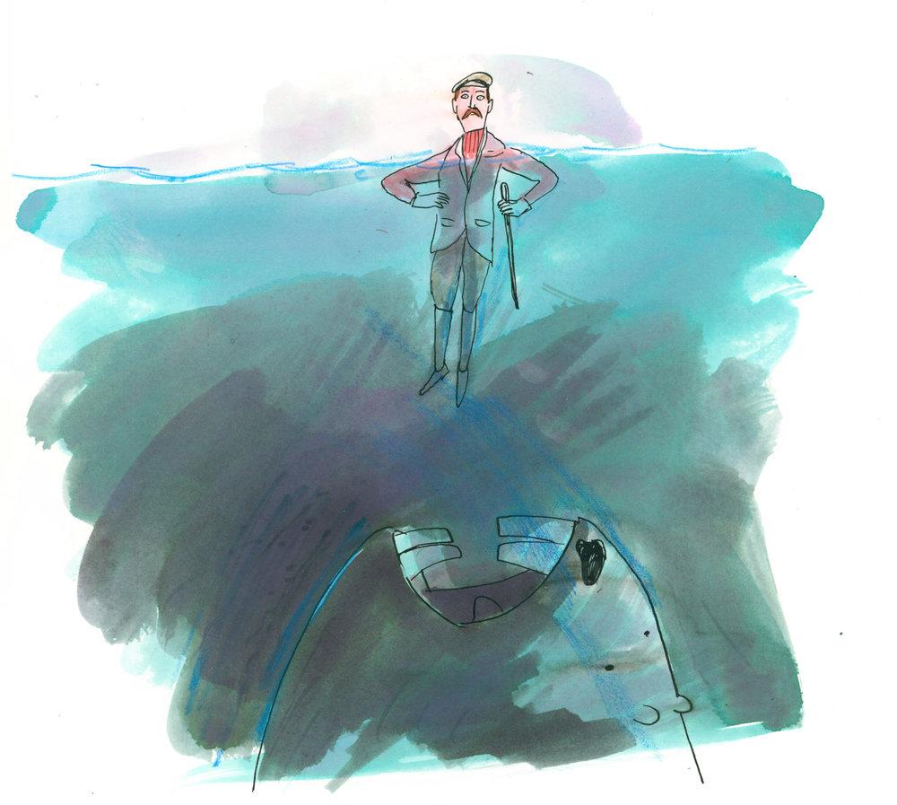 AI 30 2011 - ARTIST: Graham RoumieuTITLE: BeaverCLIENT: Hemispheres