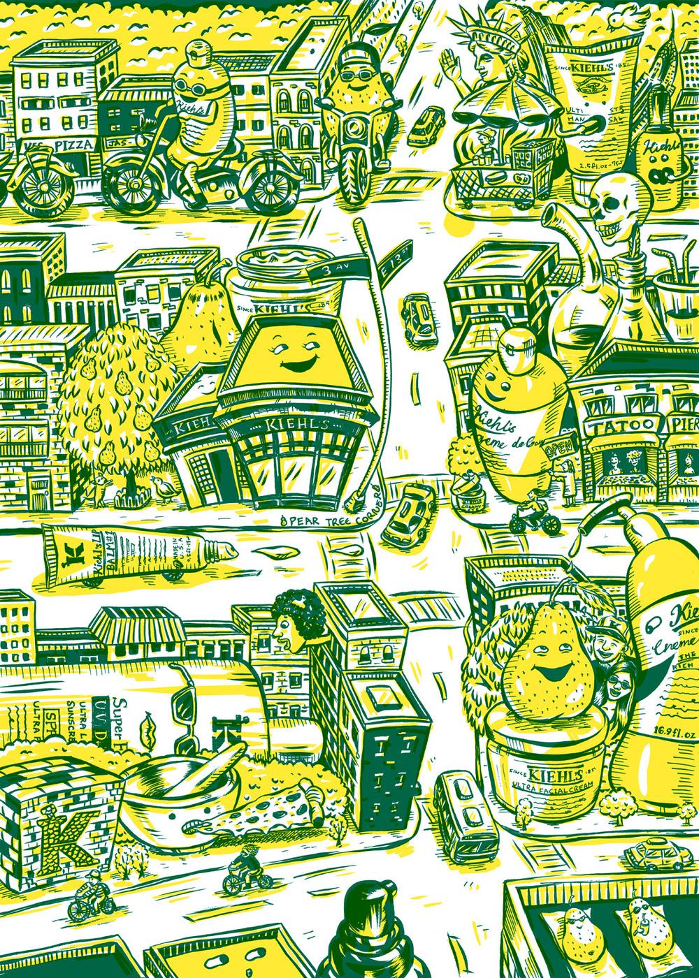 HOW 2013, SOI 55 2012 - ARTIST: Jungyeon RohTITLE: Map [1 of 2]CLIENT: Kiehl's