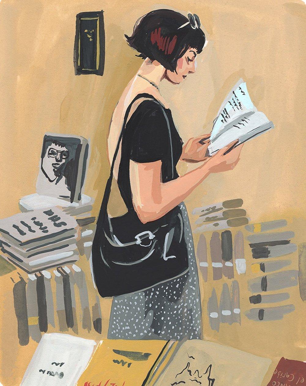 CA 60 2019, SOI 61 2018 - ARTIST: Jenny KroikTITLE: Word Up Books [7 of 7]