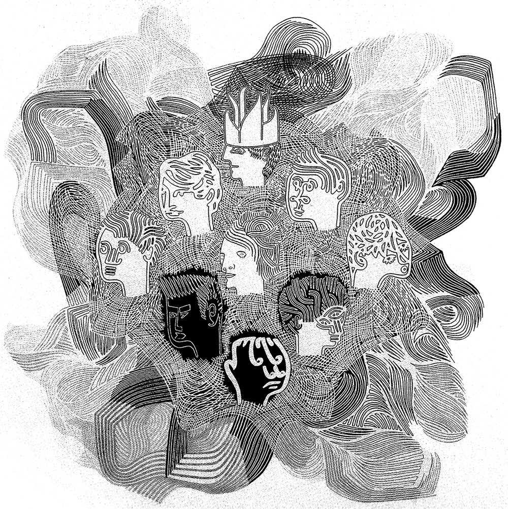CDS 2007 - ARTIST: Carlos ArrojoTITLE: Nine Heads