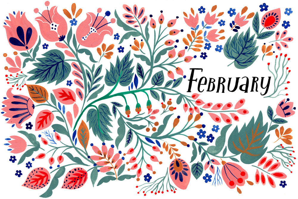 February - FLOW Diary