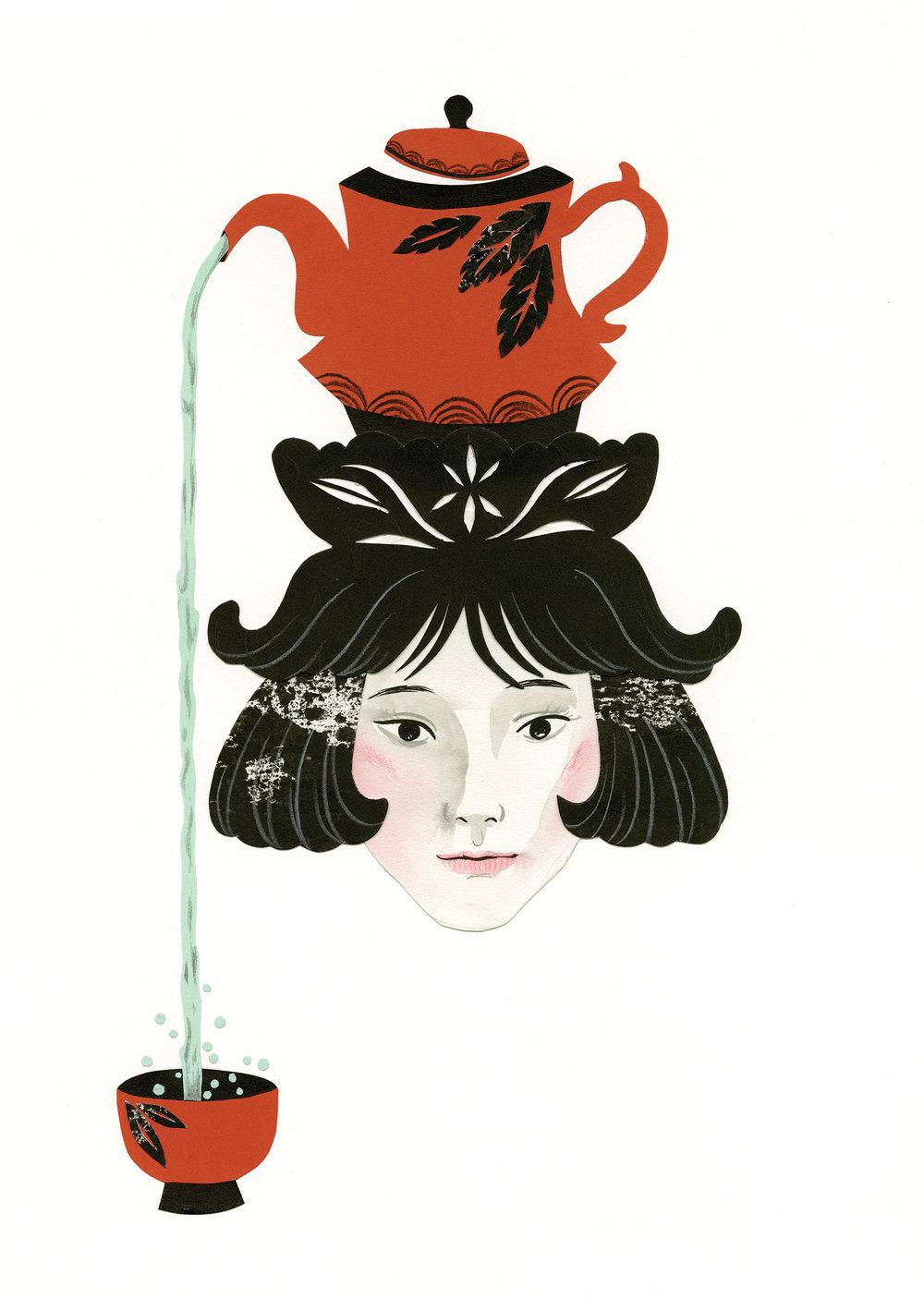 AA 2013 - ARTIST: Hye Jin ChungTITLE: Tea Ceremony Teacher [1 of 3]