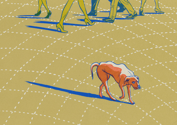 SOIW 50 2012 - ARTIST: Hye Jin ChungTITLE: The Stray Dog [2 of 3]