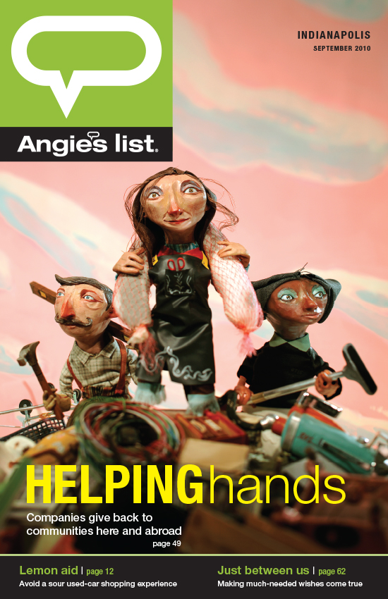 GDUA 2011 - ARTIST: Red Nose StudioTITLE: HELPINGhandsCLIENT: Angie's List