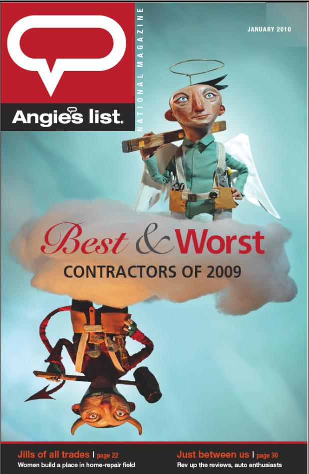PLA 2012 - ARTIST: Red Nose StudioTITLE: Best & WorstCLIENT: Angie's List