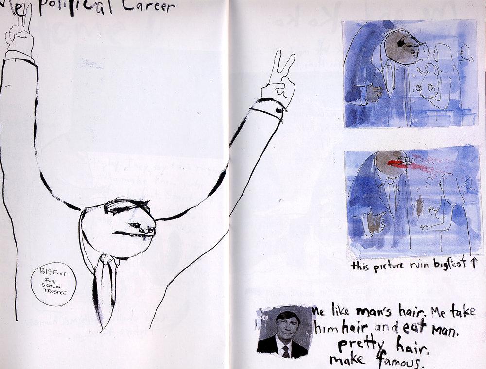AI 20 2001 - ARTIST: Graham RoumieuTITLE: Politician [1 of 3]