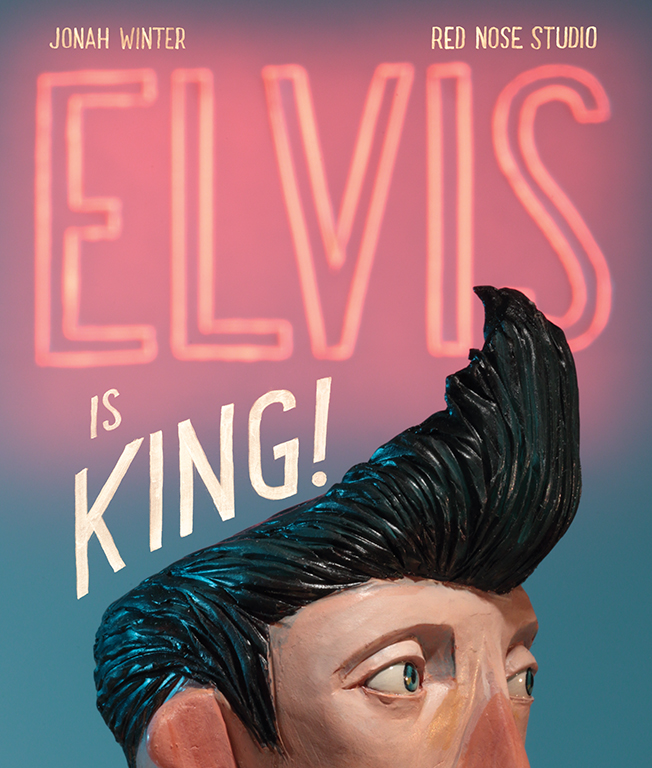 CA 60 2019 - ARTIST: Red Nose StudioTITLE: Elvis is King! [1 of 5]CLIENT: Schwartz & Wade