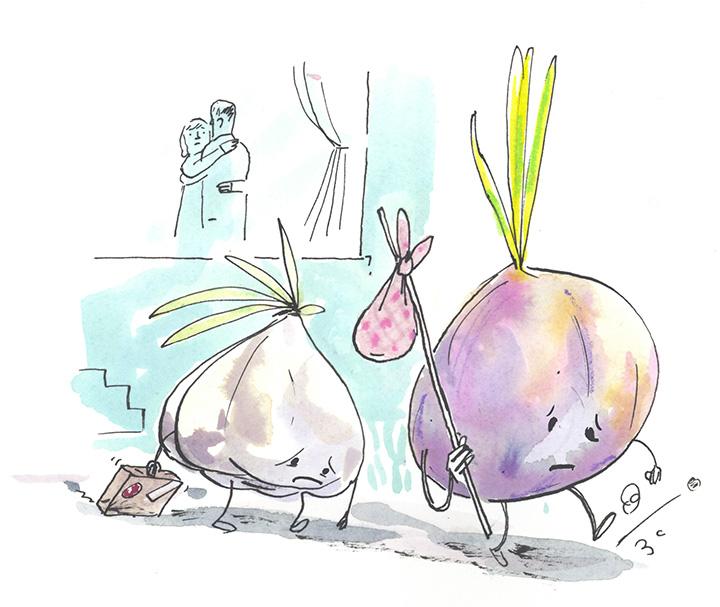 Garlic & Onion Exile (O) –Graham Roumieu