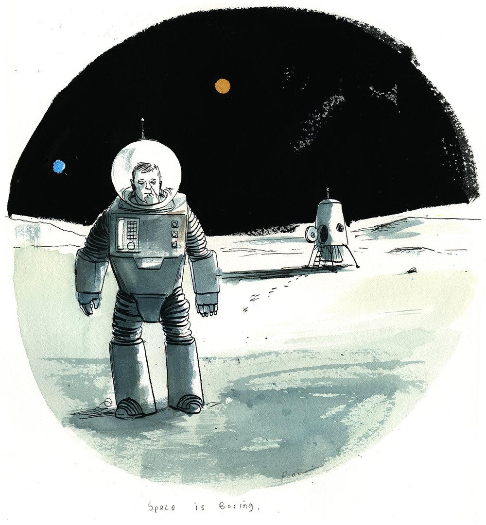 CA 47 2006 - ARTIST: Graham RoumieuTITLE: Space is boring