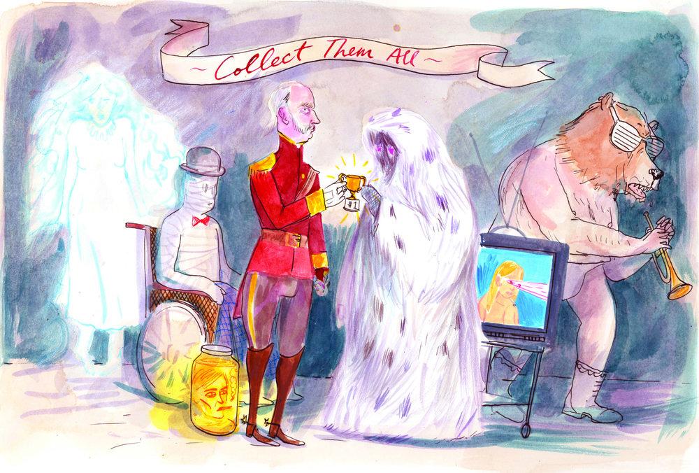 NMA 2010 - ARTIST: Graham RoumieuTITLE: Collect Them AllCLIENT: The Walrus