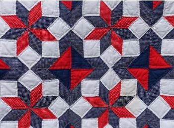 The original quilt Chloe's mom made.