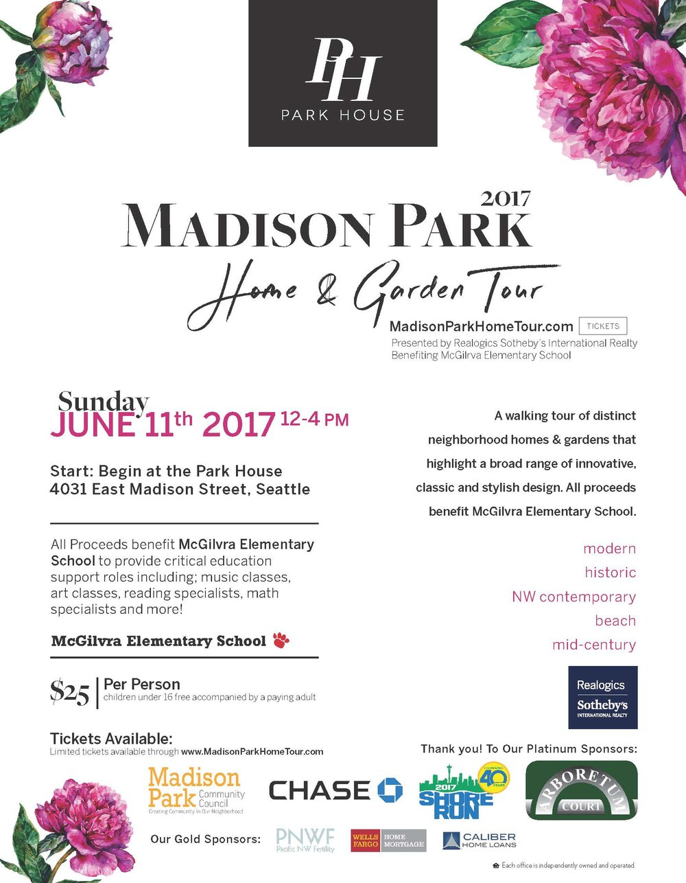 Lets Stroll Through The Homes Gardens Of Madison Park