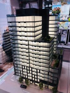 A model of KODA Condominiums was on hand at the Reservation Even