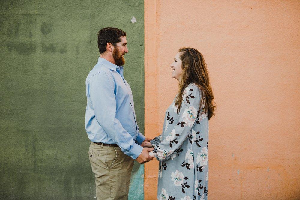 Ellen & Corey - Engagement Session - Downtown San Antonio, Texas