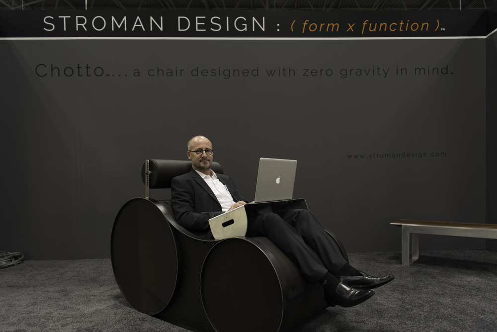 Thomas Stroman,  Founder,  STROMAN DESIGN |  2016 NYC ICFF