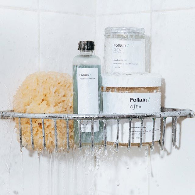 Guys!! I've been MIA over here because I've been busy over at @follain working on all things clean beauty ✨ I'm excited to share the launch of our limited edition co-branded 🛁 bath products in collaboration with some of my favorite brands @farmaesthetics, @organicbath, @ricabathandbody & @oseamalibu! Uplevel your shelfie + #selfcaresunday with these detoxing, relaxing bathtub essentials. Link in bio + let me know what you think! 🌿 Congrats to all of the Follain team! 📷 by @andrewparsons_photography featuring my showwwaah 🚿 #LiveFollain