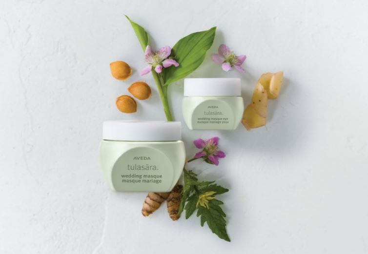 Aveda Tulasara™ Wedding Masque and Tulasara™ Wedding Eye Masque