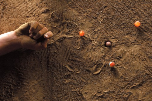 The Riverbed Toyshop   Loamy riverbeds provide an unlikely beginning for a heritage game of marbles. Chapter in The MOOWON Book, 2016.  [ Read excerpt]