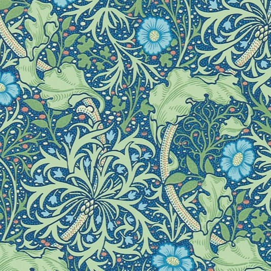 William Morris print for wallpaper