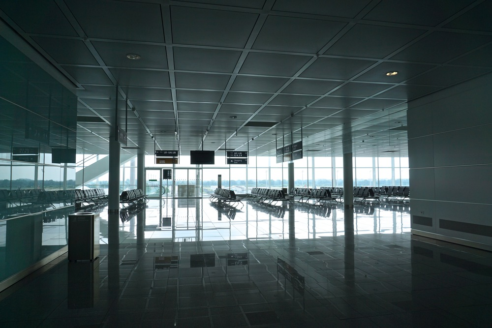 I just loved the design of the airport.