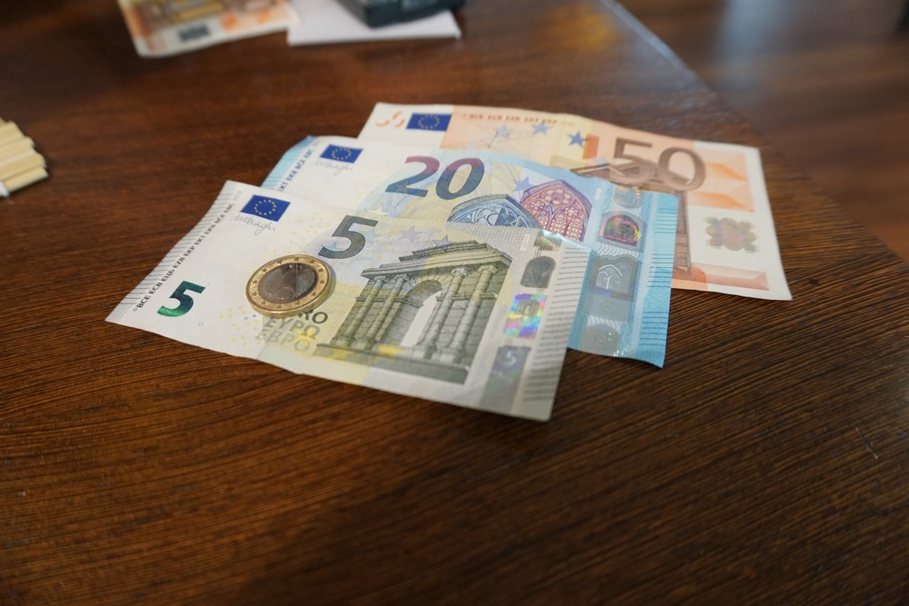 In true tourist form: I had never seen Euro before, so...Euro pic.