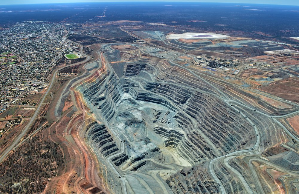 Big Pit Scenic Flight -  See the massive Kalgoorlie Consolidated Gold Mines