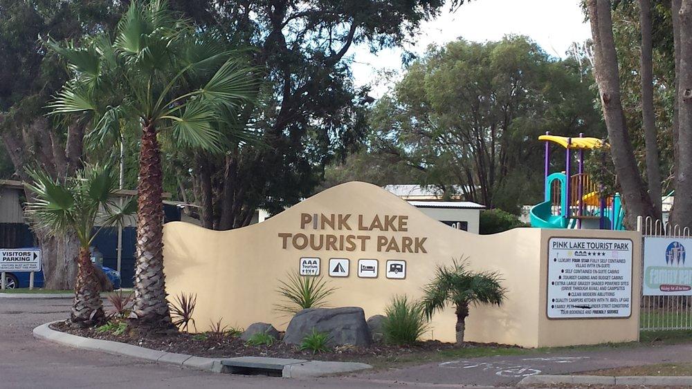 Pink Lake Tourist Park