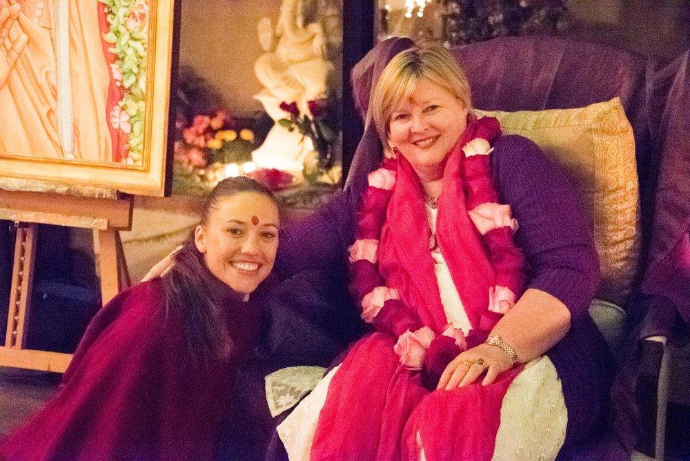 Brahmankyrie & Shakti Durga in encinitas 2016