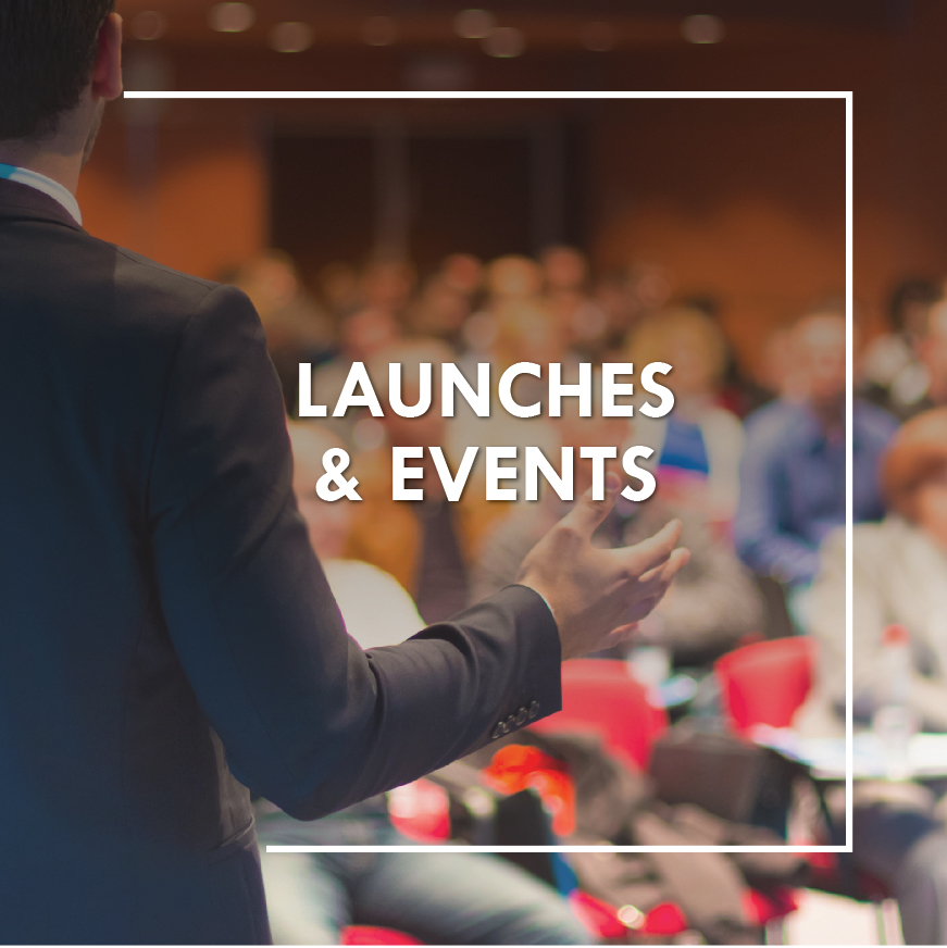 Launches and events