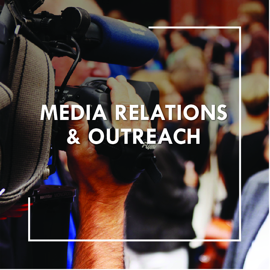 Media relations & outreach