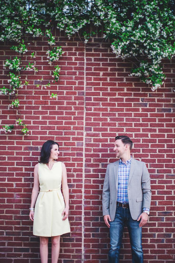Piedmont Park engagement session. Atlanta, Georgia Engagement Photography. Couples photography in Piedmont Park.