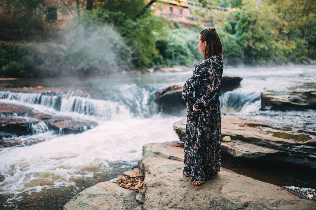 Roswell Mill Maternity Photography. Atlanta, Georgia Maternity Photography.