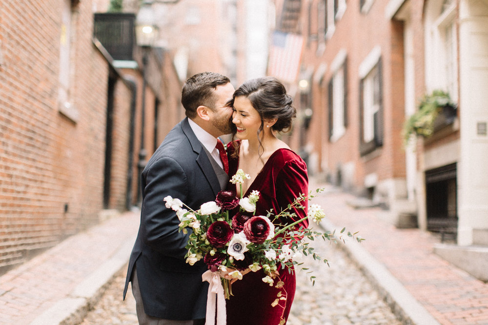 Four Corners Photography Atlanta Wedding Photographer Best Atlanta Wedding Photographer Atlanta Engagement Session Boston Engagement Session Boston Engagement Photographer Acorn Street Engagement Session Acorn Street Photography Green Wedding Shoes Atlanta Elopement Photographer Boston Elopement Arthur and Erica