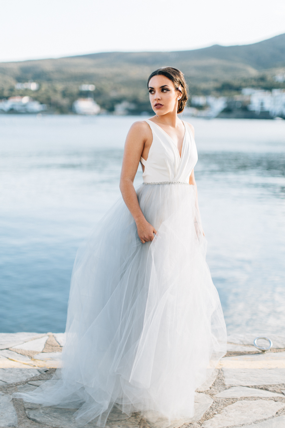 A romantic Cadaques elopement shoot that almost never happened ...