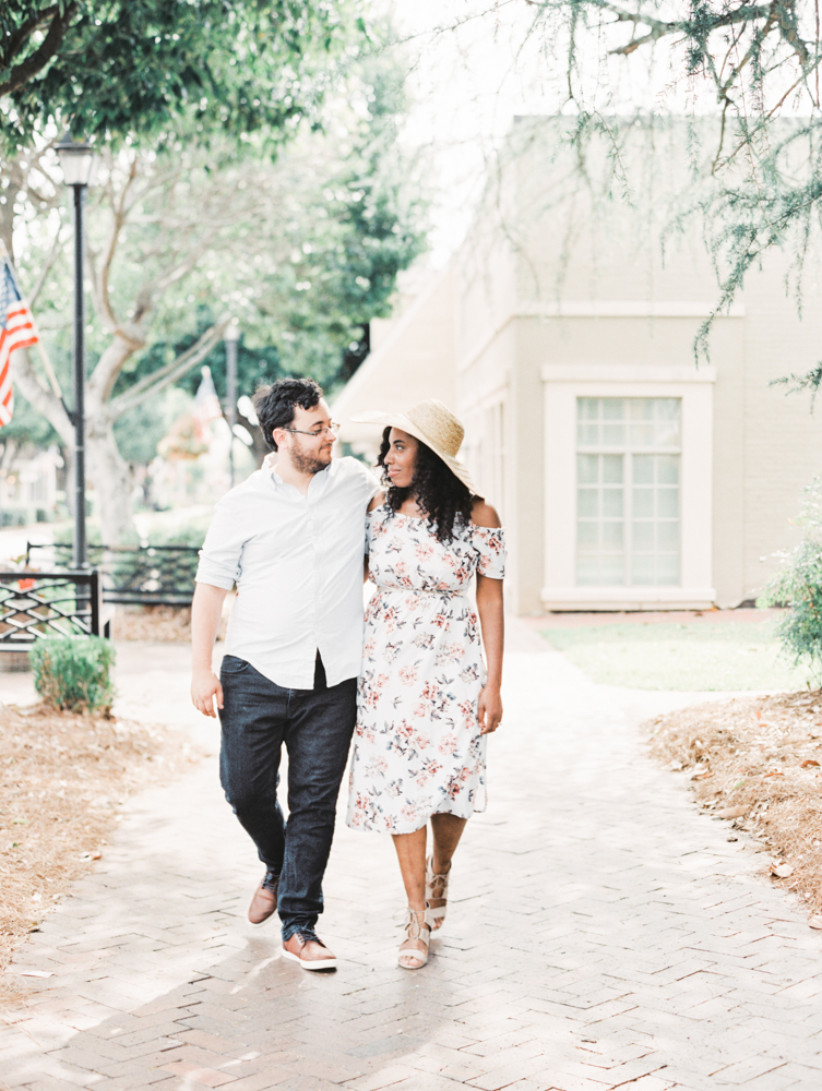Four Corners Photography Macon engagement session downtown macon engagement photos corinthia and james-6.jpg