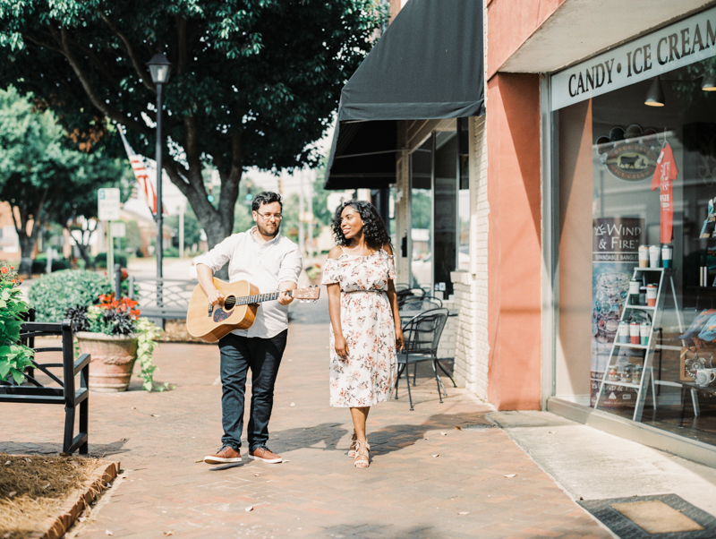 Four Corners Photography Macon engagement session downtown macon engagement photos corinthia and james-8.jpg