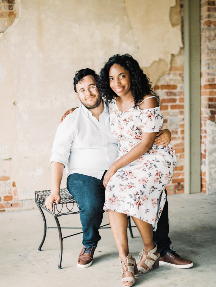 Four Corners Photography Macon engagement session downtown macon engagement photos corinthia and james-16.jpg